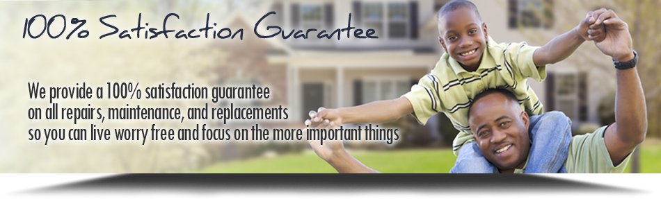 Trust our furnace repair service with our 100% satisfaction guarantee in Glenview, IL